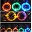 เชือกผูกรองเท้าไฟกระพริบ LED สีผสม รหัส LD005 thumbnail 3