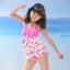พร้อมส่ง ชุดว่ายน้ำเด็กหญิง tankini เสื้อยาว ลายเชอรี่หวานน่ารัก แต่งโบว์ใหญ่ที่อก กางเกงขาสั้น thumbnail 11