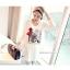 เสื้อคลุมท้องแขนยาว ลายผู้หญิงผูกโบว์แดง : สีขาว รหัส SH150 thumbnail 19