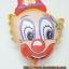 ลูกโป่งฟลอย์ลายหน้าโบโซ่ - Bozo Face Foil Balloon / Item No. TL-A072 thumbnail 3