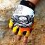 ถุงมือ MT08 - Yellow Skull - Free size thumbnail 1