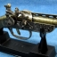 ปืนโบราณย่อส่วน แบบไฟแช็คตั้งโต๊ะ S-71 ราคา โรงเกลือ คลองถม บ้านหม้อ thumbnail 1