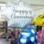 ลูกโป่งฟลอย์นำเข้า Elegant Happy Anniversary Burst / Item No. AG-26816 แบรนด์ Anagram ของแท้ thumbnail 2