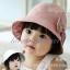 หมวกเด็กผู้หญิง ลายดอกใส่ได้สองด้าน PB12 thumbnail 1