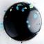 """ลูกโป่งกลมจัมโบ้ไซส์ใหญ่ 36"""" Latex Balloon RB ONYX BLACK 3FT สีดำ/ Item No. TQ-42857 แบรนด์ Qualatex thumbnail 17"""