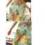 พร้อมส่ง ชุดว่ายน้ำคู่รัก ชุดว่ายน้ำบิกินี่ทูพีช พร้อมผ้าคลุมผืนใหญ่สวยๆ ลายดอกไม้ใบไม้ thumbnail 7