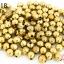 ลูกปัดทองเหลือง กลมเจียร 4X5มิล (1ขีด/100กรัม) thumbnail 1