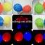 ลูกโป่ง LED พิมพ์ลายดาว คละสี แพ็ค 5 ชิ้น ไฟสลับสี (LED Balloon Star Mixed Color - LED RGB) thumbnail 2