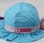 หมวกเด็กหญิง สีชมพูเข้ม สีชมพู สีแดง สีฟ้า PB14 thumbnail 5
