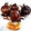 Coconut Shell Lamp, Rose Flowers (โคมไฟกะลามะพร้าว) thumbnail 1