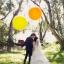 ลูกโป่งจัมโบ้ สีส้ม ขนาด 36 นิ้ว - Round Jumbo Balloon Orange thumbnail 3