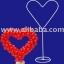 เสาลูกโป่ง ทรงหัวใจ - Balloon Stand Heart shape thumbnail 2