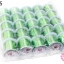 เอ็นยืด สีเขียวตอง ม้วนเล็ก (25ม้วน) thumbnail 1