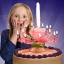 New! เทียนวันเกิดดอกไม้ มีเสียงเพลง-Music HBD Candle/ Item No. TL-N009 thumbnail 1