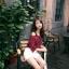 เสื้อแฟชั่นเกาหลี เว้าไหล่ ผูกใบว์ช่วงคอเสื้อ พิมพ์ลายจุดตามภาพ สีแดงเข้ม thumbnail 2