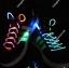 เชือกผูกรองเท้าไฟกระพริบ LED สีผสม รหัส LD005 thumbnail 1