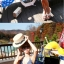 PRE ชุดว่ายน้ำคู่รัก ชุดว่ายน้ำบิกินี่ ลายโบฮีเมียนสีกรมท่า สายคล้องคอ พร้อมชุดคลุมลายสวย thumbnail 8