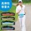 SPORT RUNNING BAG กระเป๋าคาดเอวใส่วิ่งออกกำลังกาย แบบ 2 ช่อง - สีเขียว ดำ ชมพู เหลือง น้ำเงิน thumbnail 4