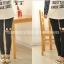 กางเกงเลคกิ้งคลุมท้องลาย EYE CARTOON : สีดำ รหัส PN194 thumbnail 3