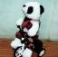 ตุ๊กตาหมีแพนด้า ขับรถจักรยาน ขยับได้จิง มีเสียงเพลง (มาใหม่) สินค้ามีจำนวนจำกัด thumbnail 2