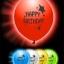 ลูกโป่งสีคละสี พิมพ์ลาย Party Time แพ็ค 5 ชิ้น ไฟกระพริบ (Party Time latex Balloon - LED RGB Mode) thumbnail 4