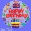 ลูกโป่งฟลอย์นำเข้า Bright Birthday Icons / Item No. AG-26901 แบรนด์ Anagram ของแท้ thumbnail 3