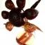 Coconut Shell Lamp , Sun Flower (โคมไฟกะลามะพร้าวดอกทานตะวัน) thumbnail 2