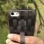 ** พร้อมส่งค่ะ ** เคส iPhone 5/5s/se ลายสาน สีดำใส thumbnail 2