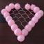 กรอบตาข่ายใส่ลูกโป่งทรงหัวใจ - Balloon Grid Mesh Heart Balloon thumbnail 2