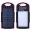 แบตสำรอง Power Bank พลังงานแสงอาทิตย์ 3 ระบบ สามารถชาร์จไฟบ้านได้ และมีไฟฉายในตัว กันน้ำได้ Solar Charger with LED Light ขนาด 50000 mAh thumbnail 1