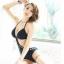 พร้อมส่ง ชุดว่ายน้ำวันพีซ Monokini ลายผ้าฉลุสวย เว้าหลังลึก thumbnail 2