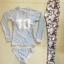 ชุดว่ายน้ำแขนยาว+ขายาว เสื้อสีเทา กางเกงลายสวยๆ เซ็ต 3 ชิ้น (แขนยาว+บิกินี่+ขายาว) thumbnail 10