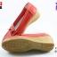 รองเท้าแฟชั่นหุ้มส้น CSB ซีเอสบี รุ่น FZ92-573 สีเแดง เบอร์ 36, 40 thumbnail 2