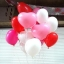 """ลูกโป่งหัวใจ เนื้อสแตนดาร์ทสีชมพู ไซส์ 12 นิ้ว แพ็คละ 10 ใบ (Heart Latex Balloon - Pink Color 12"""") thumbnail 6"""