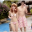 พร้อมส่ง ชุดว่ายน้ำคู่รัก ชุดว่ายน้ำบิกินี่ทูพีซ ลายสัตว์ทะเล พร้อมชุดแซกคลุมผ้าซีทรูสวย thumbnail 10