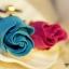 **พร้อมส่งค่ะ** ดอกกุหลาบประดับเพชร สีฟ้า thumbnail 8