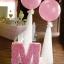 """ลูกโป่งกลมจัมโบ้ไซส์ใหญ่ 30""""Latex Balloon RB Pearl Pink สีชมพูมุก / Item No. TQ-39761 แบรนด์ Qualatex thumbnail 2"""