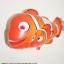 ลายปลาการ์ตูน นีโม่พ่อลูก - Two Clown Fish Shape Balloon/ Item No.TL-B006 thumbnail 1