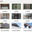ร้านซินซุ่นเฮง งานกระจก อลูมิเนียม มุ้งลวด เหล็กดัด กั้นห้อง หลังคาโพลี เมทัลชีท ประตูม้วน ตามสั่ง ราคากันเอง 089-777-3360 thumbnail 3