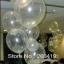 """ลูกโป่งจัมโบ้ สีใส (เนื้อยาง) ขนาด 24 นิ้ว - Round Jumbo Balloon Clear color 24"""" thumbnail 4"""