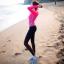 ชุดว่ายน้ำขายาว+แขนยาว เสื้อสีชมพูบานเย็น+บิกินี่+กก.ขายาว เซ็ต 3 ชิ้น thumbnail 2