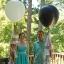 """ลูกโป่งจัมโบ้ สีดำ ขนาด 24 นิ้ว - Round Jumbo Balloon Black 24"""" thumbnail 2"""