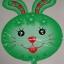 Rabbit ShapeFoil Balloon - บอลลูนหน้ากระต่าย thumbnail 2