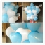 """ลูกโป่งหัวใจ เนื้อสแตนดาร์ทสีฟ้าอ่อน ไซส์ 12 นิ้ว แพ็คละ 10 ใบ (Heart Latex Balloon - Light Blue Color 12"""") thumbnail 3"""