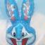 ลูกโป่งฟลอย์ การ์ตูนบั๊ก บันนี่ สีฟ้า - Bugs Bunny Foil Balloon / Item No. TL-B036 thumbnail 1