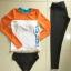 ชุดว่ายน้ำขายาว เสื้อแขนยาวสีส้มขาวสวยๆ เซ็ต 3 ชิ้น thumbnail 10