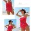 พร้อมส่ง ชุดว่ายน้ำวันพีซ Monokini สายเสื้อเดี่ยว แต่งระบายด้านหน้า หลังเว้าลึก น่ารักสไตล์เกาหลี thumbnail 49