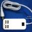 ชุดชาร์จ USB แบบ 4 พอร์ต ขนาด 15W สายยาว 1.5 เมตร thumbnail 2