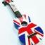 """อูคูเลเล่ Ukulele Mahalo (England) Art England flag Maple สาย Clear Soprano 21"""" ฟรีกระเป๋า thumbnail 1"""