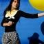 """ลูกโป่งจัมโบ้ สีเหลือง ขนาด 24 นิ้ว - Round Jumbo Balloon Yellow 24"""" thumbnail 2"""